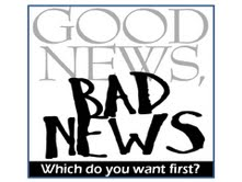 good news bad news graphic
