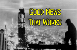 Good News That Works logo Sermon